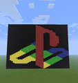 Playstation. - minecraft-pixel-art fan art