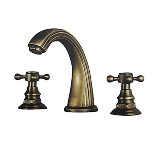 Brass Lavatory Faucet : Faucets images Polished Brass Finish Brass Bathroom Sink Faucet ...