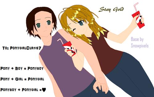 Ponyboy!...and ME!