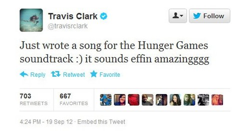 Possible song for the Catching Fire soundtrack