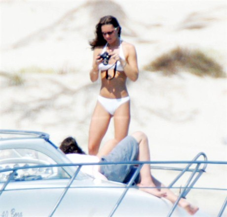 Prince William and Kate Middleton on holiday in Ibiza, Spain