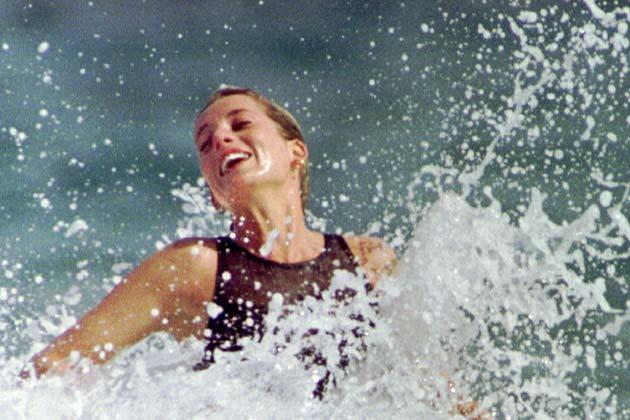 Princess Diana in bikini
