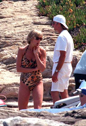 Lady Di fond d'écran called Princess Diana in bikini