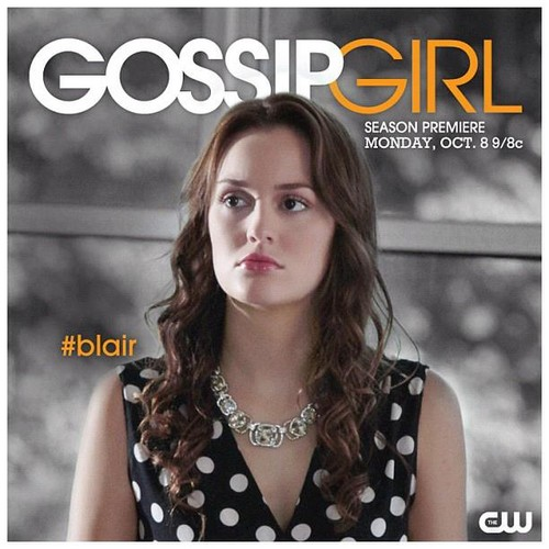 Blair Waldorf wallpaper containing a portrait titled Promotional Photo Gossip Girl - 6th season !