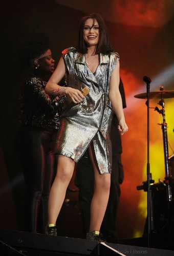 Jessie J wallpaper containing a concert called Radio 2 Live Hyde Park, London, England - September 09, 2012