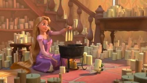 Rapunzel- Candle Making Screencap
