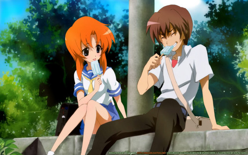 Rena and Keiichi