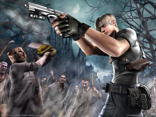 Resident Evil 4 wolpeyper