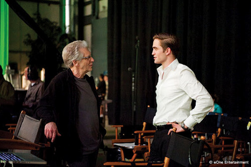 Robert 防弹少年团 of Cosmopolis with the director