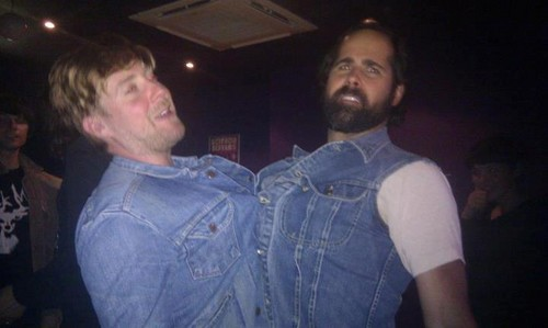 Ronnie Vannucci and Ricky Wilson