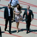 Royals Land In Brisbane Australia