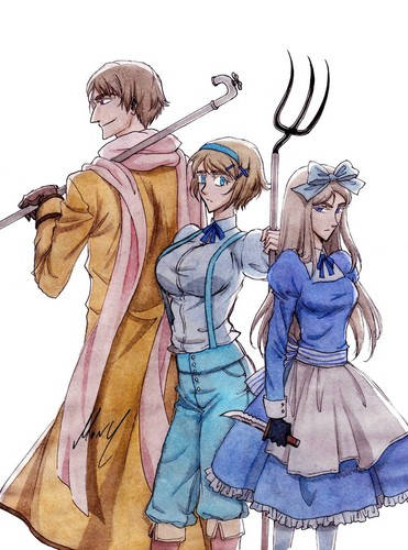 Russia, Ukraine, Belarus - hetalia Photo