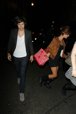 SEP 12TH - HARRY AND PIXIE GELDOF LEAVING GOUCHO CLUB