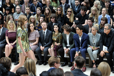 SEP 17TH - HARRY AT BURBERRY LFW S/S 2013 WOMENSWEAR SHOW - harry-styles Photo
