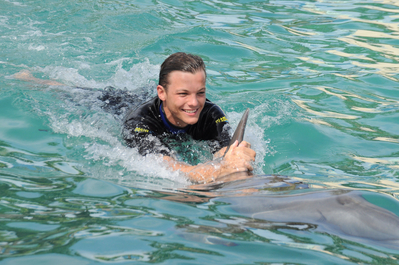 SEP 17TH - LOUIS & LIAM AT MIAMI SEAQUARIUM