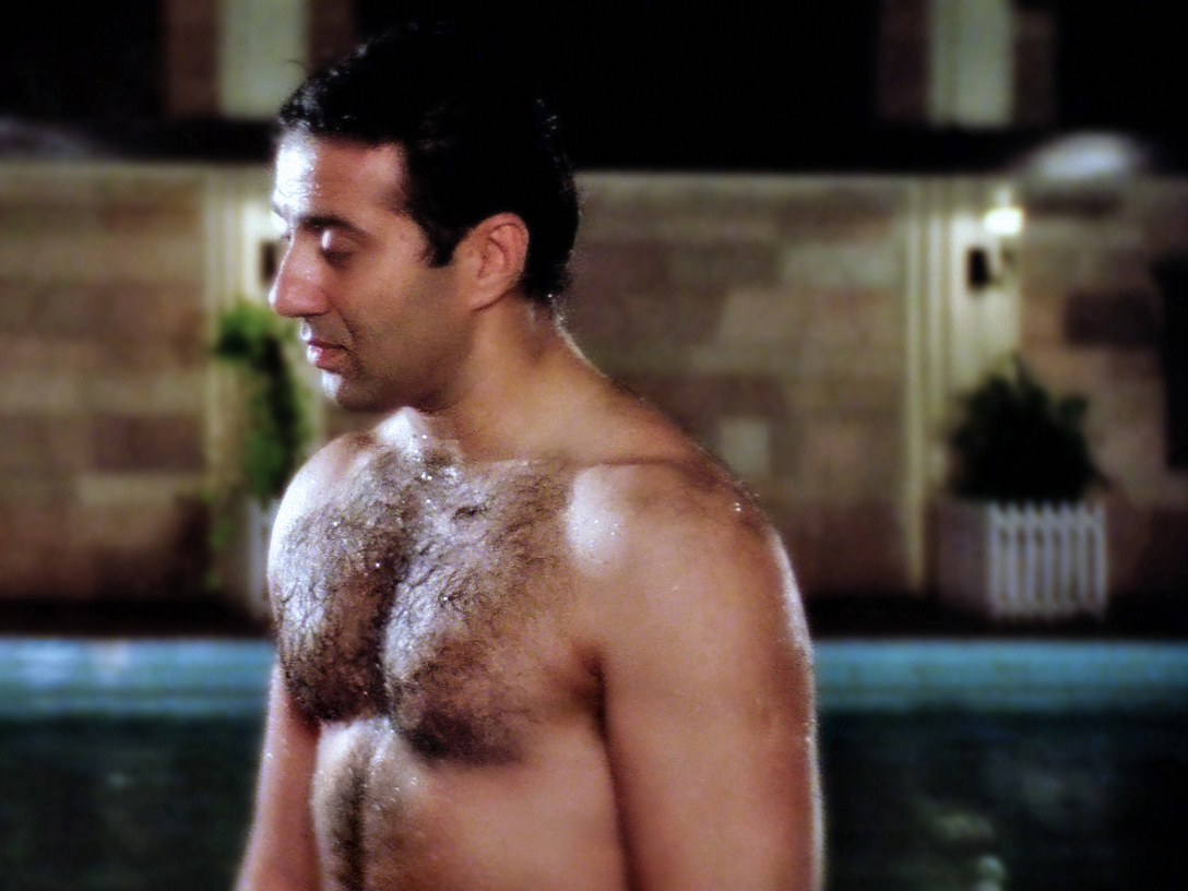 SUNNY DEOL SHIRTLESS BODY