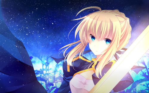 haremaster99 wallpaper entitled Saber
