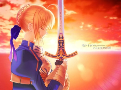haremaster99 wallpaper titled Saber