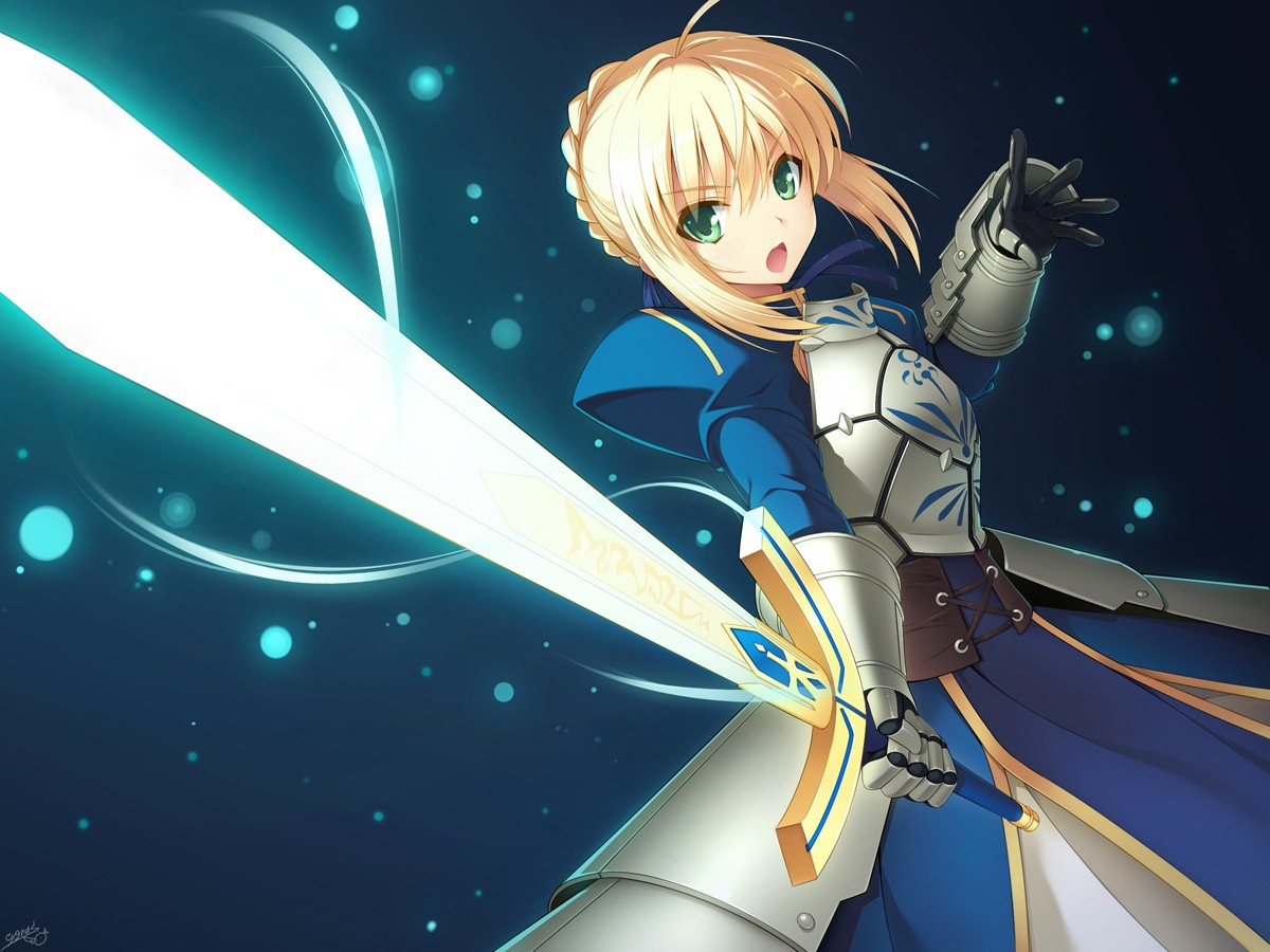 haremaster99 images Saber HD wallpaper and background ...