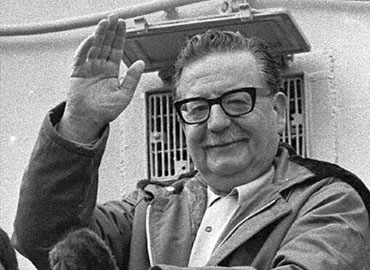 Salvador Allende Gossens (26 June 1908 – 11 September 1973)