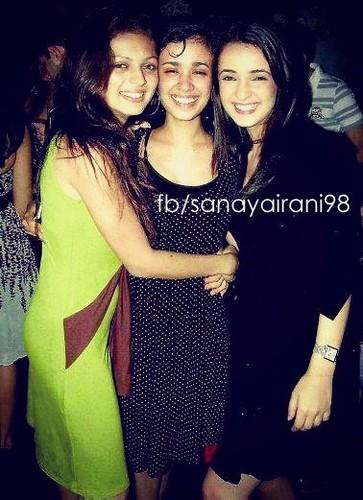 Sanaya with her Marafiki