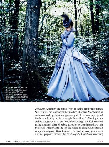Scans of US Vogue October 2012