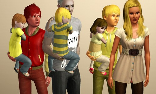 The Sims 3 wallpaper entitled Screenies of My Berries ♥