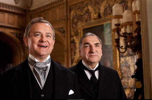 Downton Abbey fond d'écran with a business suit titled Season 3