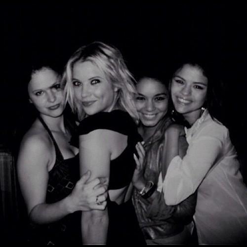 Selena Gomez, Ashley Benson, Vanessa Hudgens and Rachel Korine