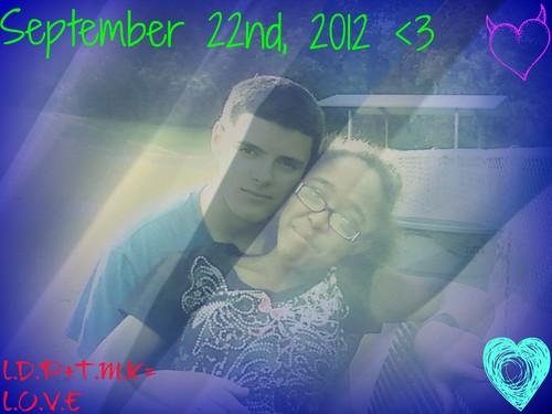 September 22nd, 2012 <3