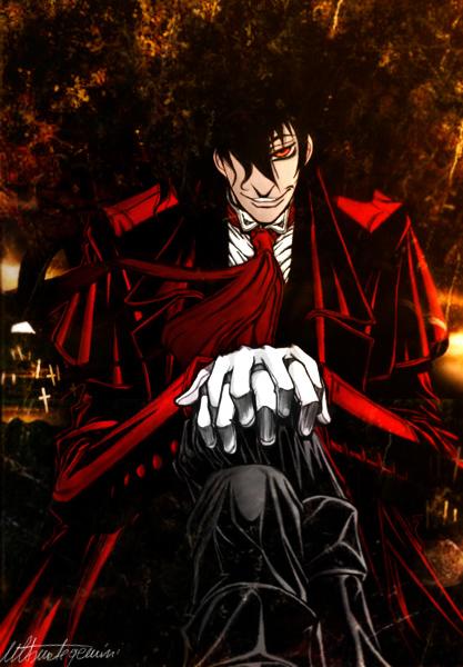 The Sexy Vampire Alucard    SexyVampire Alucard