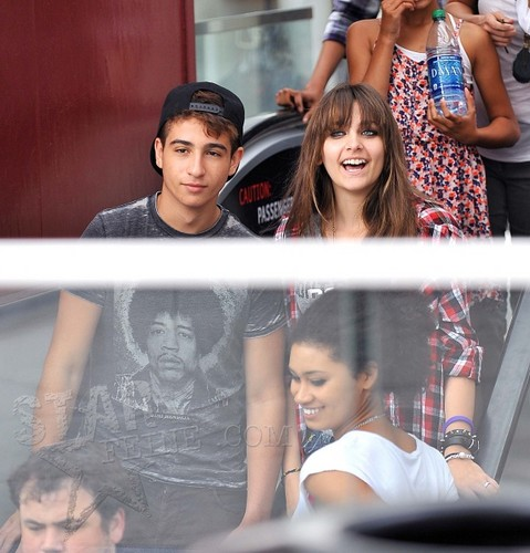Shak and his best friend Paris Jackson ♥♥ NEW SEPTEMBER 23rd 2012