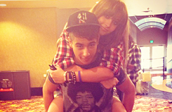 Shak and his friend Paris Jackson ♥♥