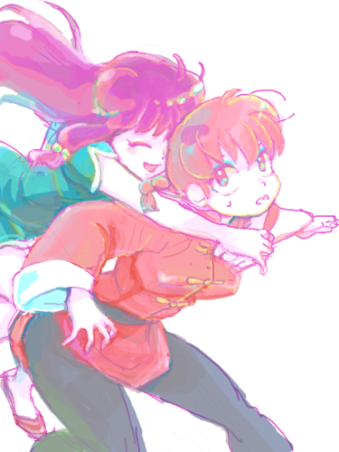 Shampoo and Girl Ranma