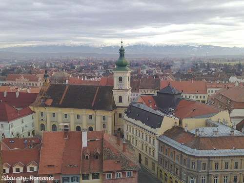Sibiu, Romania - Transylvania beautiful european cities Rumania