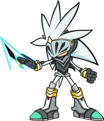 Silver the Hedgehog wallpaper with Anime titled Silver
