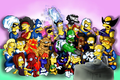 Simpsons Super Heroes