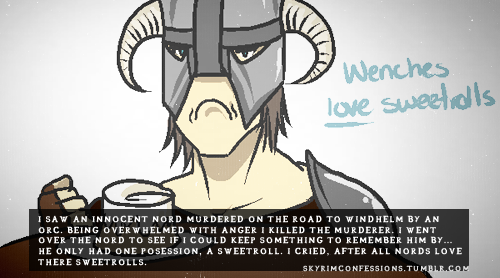 Elder Scrolls V : Skyrim wallpaper possibly containing anime called Skyrim Confessions
