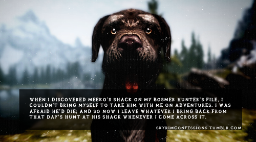 Elder Scrolls V : Skyrim wallpaper called Skyrim Confessions
