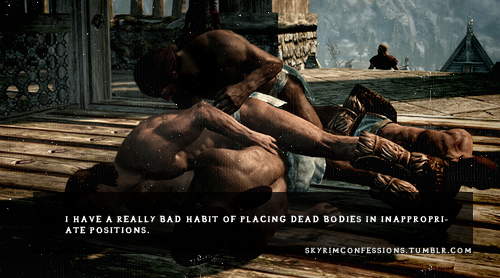 Elder Scrolls V : Skyrim wallpaper probably with a fountain entitled Skyrim Confessions