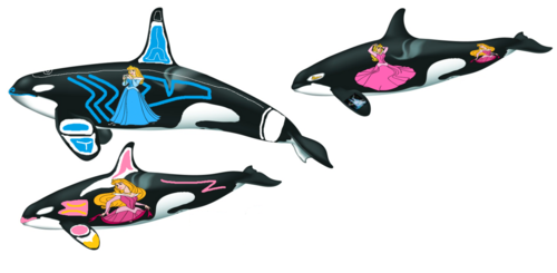 Sleeping Beauty Orcas
