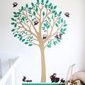 Small Zoo Wall Sticker