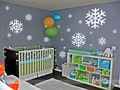 Snow Room Wall Sticker