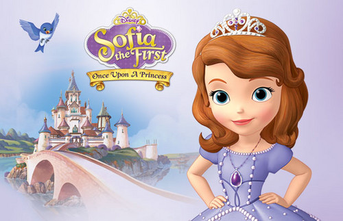 Sofia The First kertas dinding entitled Sofia