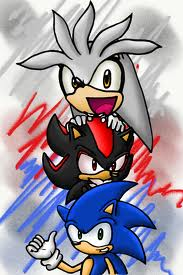 Sonic,Shadow,and Silver