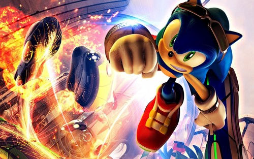 Sonic the Hedgehog :D