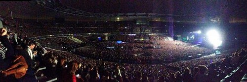 Stade de France getting ready for Gaga