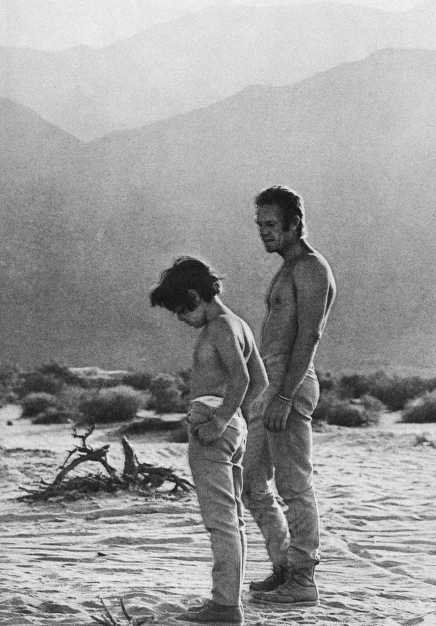 Steve and Chad McQueen