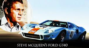 Steve McQueen wallpaper entitled Steve's Ford GT40
