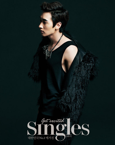 Super Junior Eunhyuk SINGLES Magazine October Issue 09/24 (OFFICIAL)
